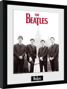 The Beatles - Boat Poster Emoldurado
