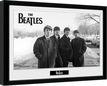 The Beatles - Capitol Hill Poster Emoldurado