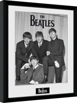 The Beatles - Chair Poster Emoldurado