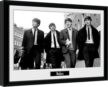 The Beatles - In London Poster Emoldurado