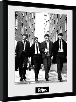 The Beatles - In London Portrait Poster Emoldurado