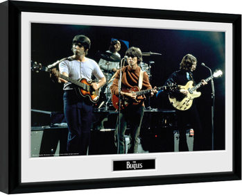 The Beatles - Live Poster Emoldurado