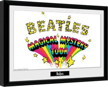 The Beatles - Magical Mystery Poster Emoldurado