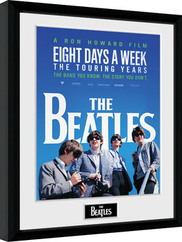 The Beatles - Movie Poster Emoldurado