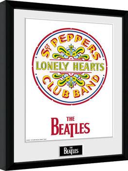 The Beatles - Sgt Pepper Poster Emoldurado