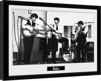 The Beatles - Studio Poster Emoldurado