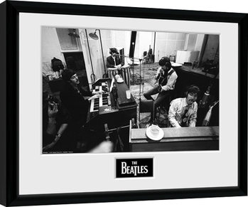 The Beatles - Studio Poster Emoldurado