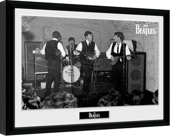 The Beatles - The Cavern 2 Poster Emoldurado