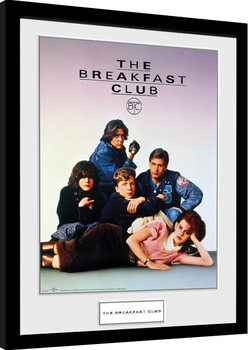 The Breakfast Club - Key Art Poster Emoldurado
