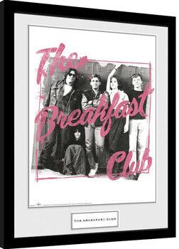 The Breakfast Club - The Breakfast Club Poster Emoldurado