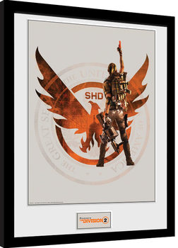 The Division 2 - SHD Poster Emoldurado