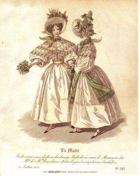 Reprodução do quadro  The Dress 4