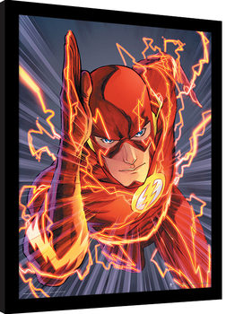 The Flash - Zoom Poster Emoldurado