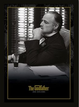 THE GODFATHER - Don Corleone Poster Emoldurado