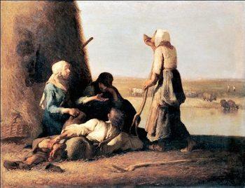 Reprodução do quadro  The Haymaker's Rest