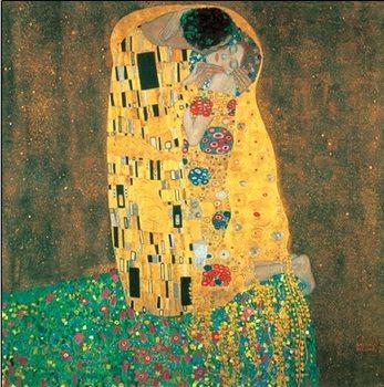 Reprodução do quadro  The Kiss
