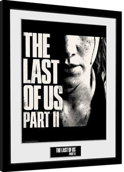 The Last Of Us Part 2 - Face Poster Emoldurado