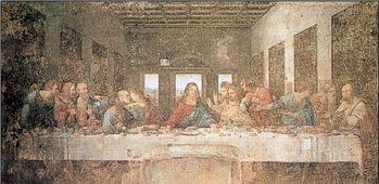 Reprodução do quadro The Last Supper