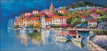 Reprodução do quadro  The Old Bay