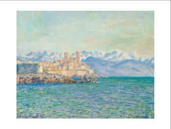 Reprodução do quadro  The Old Fort at Antibes