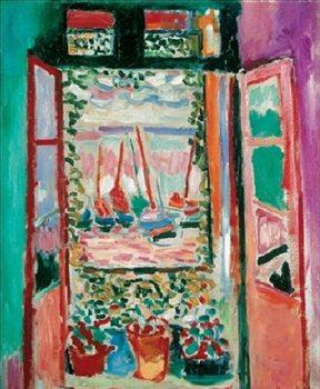 Reprodução do quadro The Open Window, Collioure, 1905