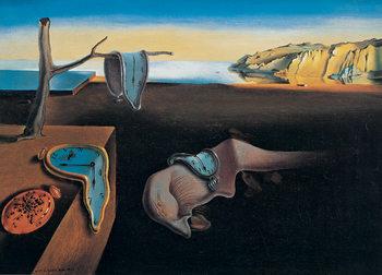 Reprodução do quadro  The Persistence of Memory, 1931
