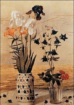 Reprodução do quadro  The Portinari Altarpiece - The Portinari Triptych, 1475 (part)
