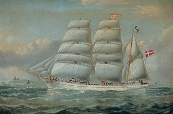 Reprodução do quadro  The Ship Claudia