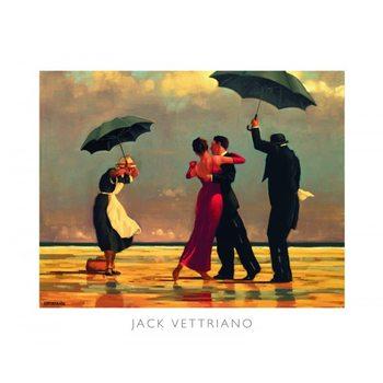 Reprodução do quadro  The Singing Butler, 1992