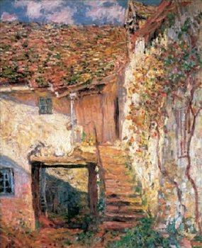 Reprodução do quadro  The Stairs, 1878