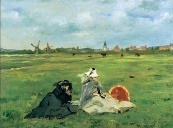 Reprodução do quadro The Swallows, 1873