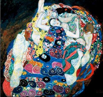 Reprodução do quadro The Virgin