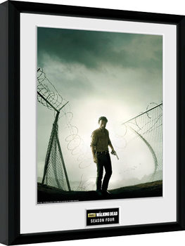 The Walking Dead - Season 4 Poster Emoldurado