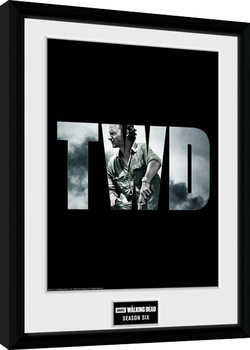 The Walking Dead - Season 6 Poster Emoldurado