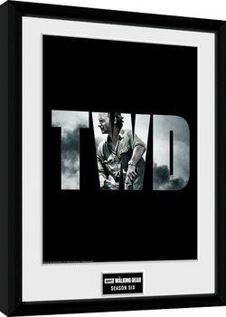 The Walking Dead - Season 6 Poster Emoldurado