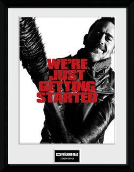 The Walking Dead - Season 7 Poster Emoldurado