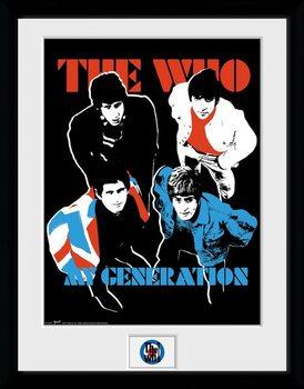 The Who - My Generation Poster Emoldurado