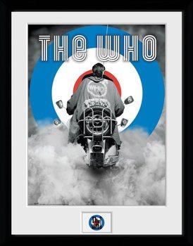 The Who - Quadrophenia Poster Emoldurado