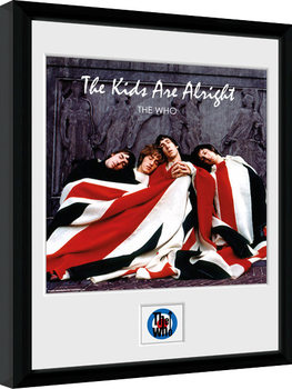 The Who - The Kids ae Alright Poster Emoldurado