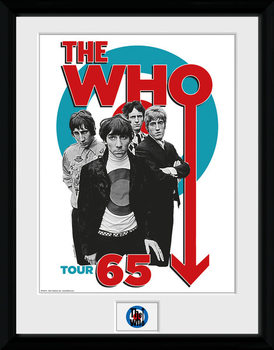 The Who - Tour 65 Poster Emoldurado