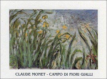 Reprodução do quadro  The Yellow Iris