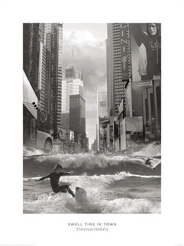 Reprodução do quadro  Thomas Barbey - Swell Time In Town