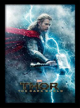 Thor 2 - Teaser Poster Emoldurado