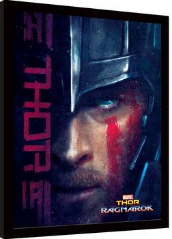 Thor Ragnarok - Thor Poster Emoldurado