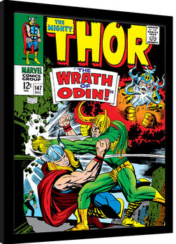 Thor - Wrath of Odin Poster Emoldurado