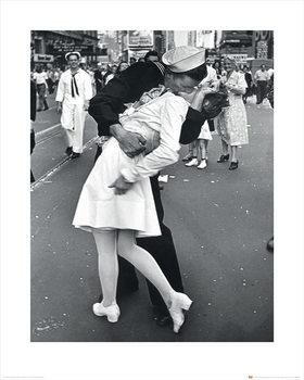 Reprodução do quadro  Time Life - Time Kiss
