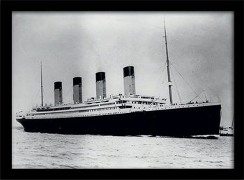 Titanic (2) Poster Emoldurado
