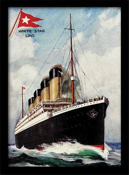 Titanic Poster Emoldurado