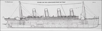 Reprodução do quadro  Titanic - Plans B
