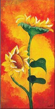 Reprodução do quadro  Two Sunflowers